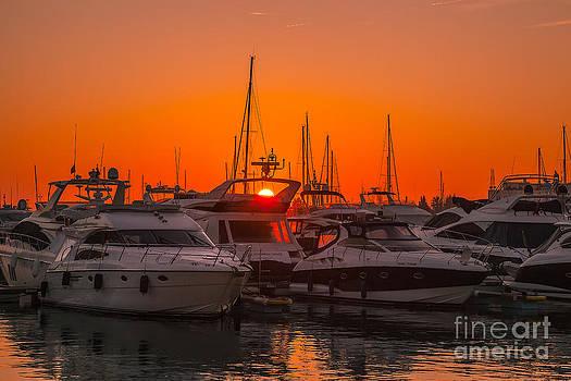 English Landscapes - Vilamoura Marina Sunset