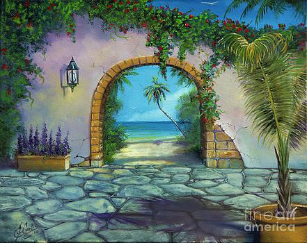 Villa At The Beach by Earl Butch Curtis