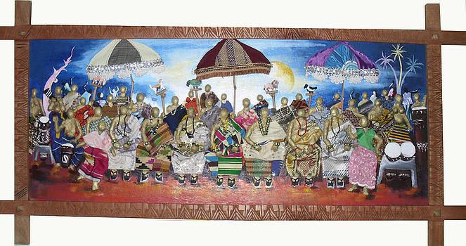 Village Festival by Isaac Bineyson