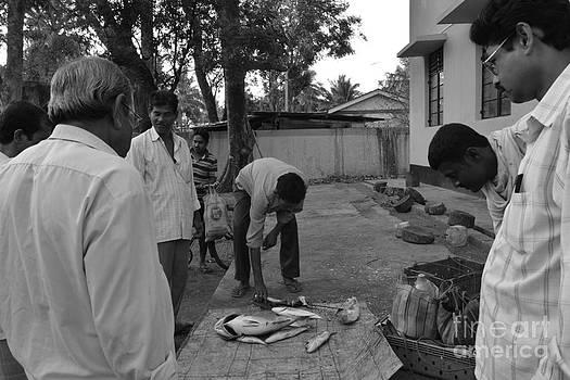 Village Fish Market by Bobby Mandal