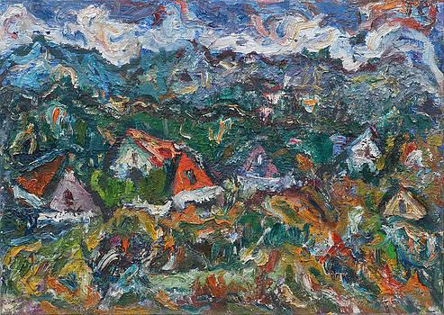 Village in Durmitor Mountains by Borislav Djukanovic