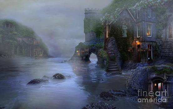Villages by the foggy sea II by Lynn Jackson