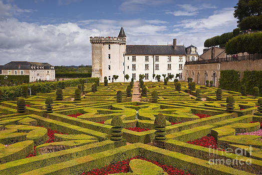 Villandry chateau and gardens by Julian Elliott