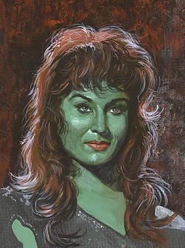 Vina The Green Slave Girl by Harold Shull