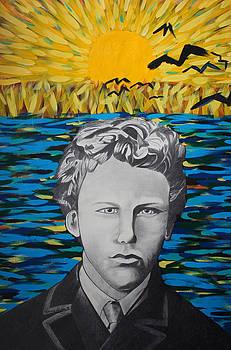 Vincent Van Gogh 17 years old by Dennis Nadeau