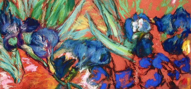 Vincent's Irises by  Tolere