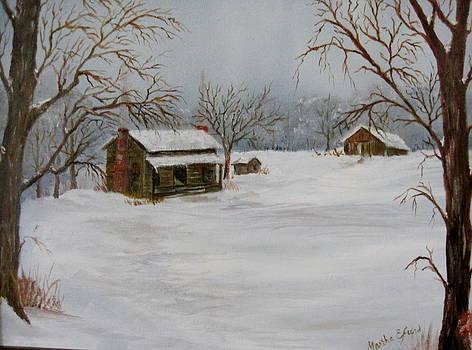 Vineyard Cabin by Martha Efurd
