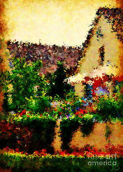 Vineyard Veranda by Mindy Bench