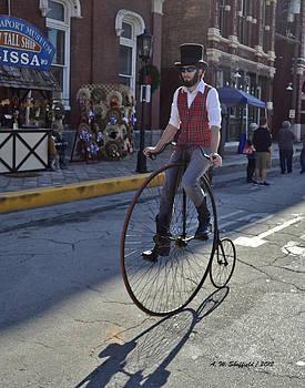 Allen Sheffield - Vintage Bicycle High Wheeler