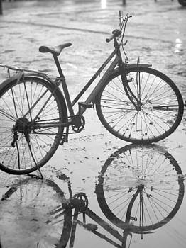 Vintage Bike in Black and White by Chase Chisholm