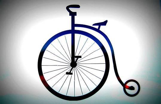 vintage Bike Sign  by Heart On Sleeve ART