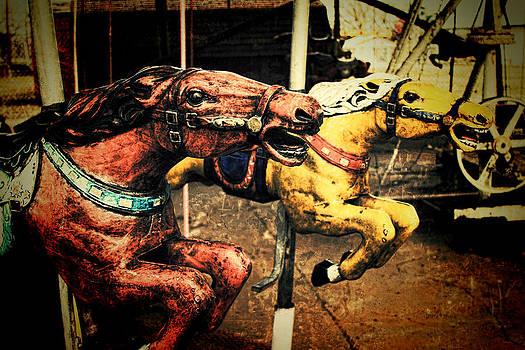 TONY GRIDER - Vintage Carousel Horses 002