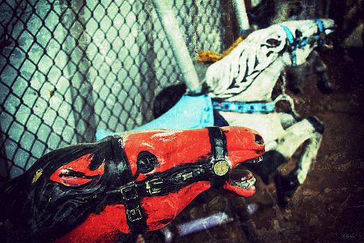 TONY GRIDER - Vintage Carousel Horses 004