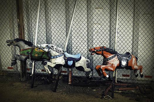 TONY GRIDER - Vintage Carousel Horses 006