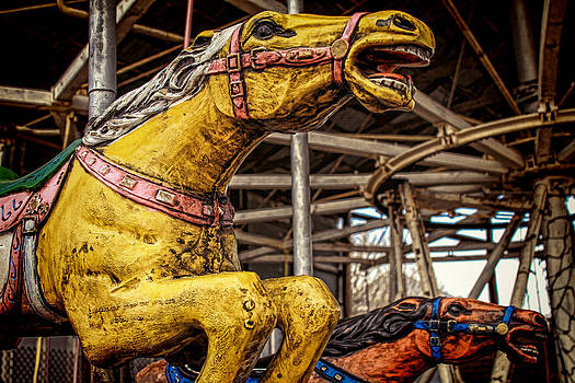 TONY GRIDER - Vintage Carousel Horses 007