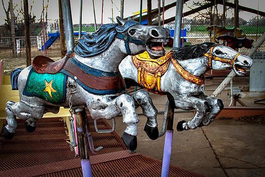 TONY GRIDER - Vintage Carousel Horses 010