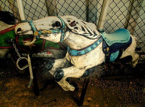 TONY GRIDER - Vintage Carousel Horses 011