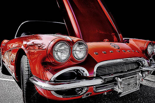 Vintage Corvette  by Ray Still