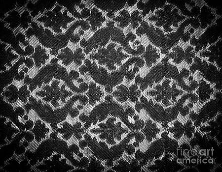 Tim Hester - Vintage Fabric Black and White