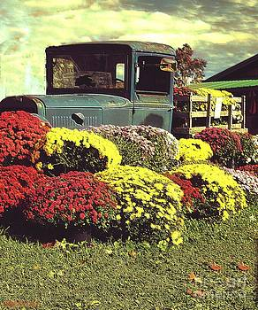 Vintage Fall Image by Kathleen Struckle