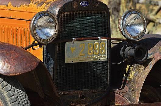 Kae Cheatham - Vintage Ford Truck 1