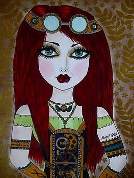 Vintage Girl by Maria  Ruiz