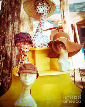 Sonja Quintero - Vintage Hats on Display