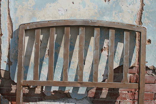 Vintage Headboard by Paulette Maffucci