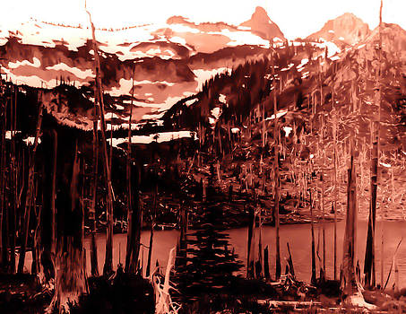 Vintage Lake Louise early 1900 era... by Eddie Eastwood
