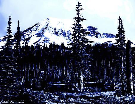 Vintage Mount Rainier early 1900 era... by Eddie Eastwood