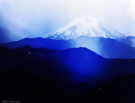 Vintage Mount St. Helens from Pinnacle Peak early 1900 era... by Eddie Eastwood