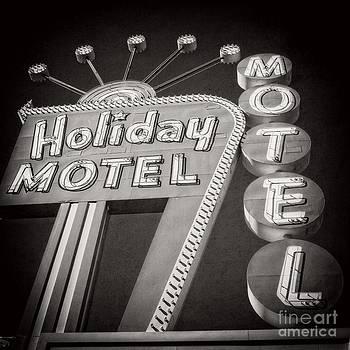 Edward Fielding - Vintage Neon Sign Holiday Motel Las Vegas Nevada