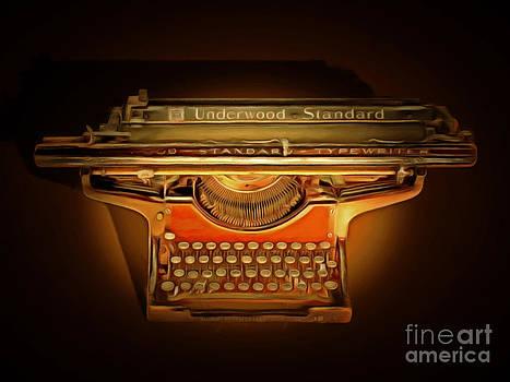 Wingsdomain Art and Photography - Vintage Nostalgic Typewriter 20150228
