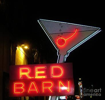 John Malone - Vintage Red Barn Neon Sign Las Vegas