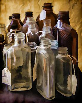Lynn Palmer - Vintage Sloan Linament Bottles