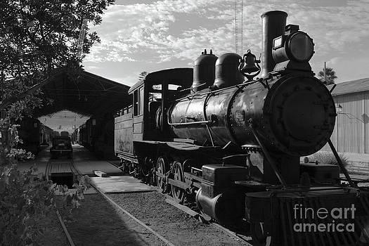 James Brunker - Vintage Steam Engine at Tacna