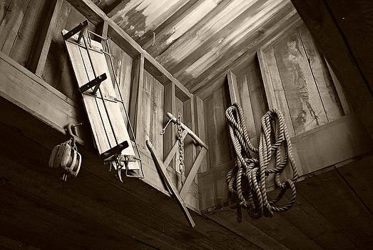 Marilyn Wilson - Vintage Tools - sepia