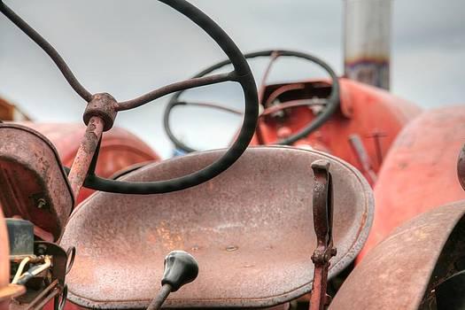 Vintage Tractor Seats by Michael Allen