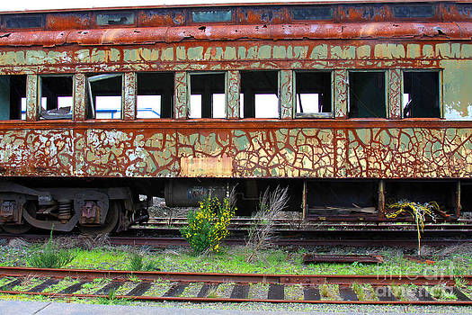 Vintage Train Car by Dawn Kori Snyder
