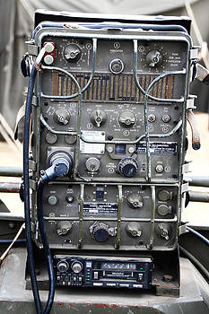 Vintage U S army Signal Corps radio by Tom Conway