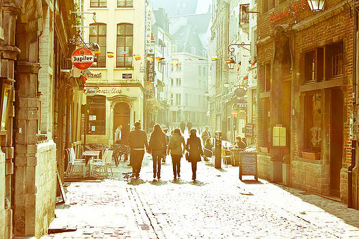 Vintage Walks in Belgium by Calvin Hanson