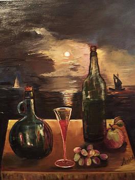 Vintage Wine by Arlen Avernian Thorensen