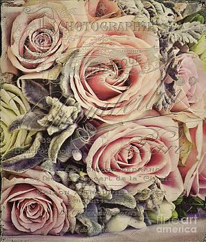 VintageFrench Wedding Bouquet by Karen Lewis
