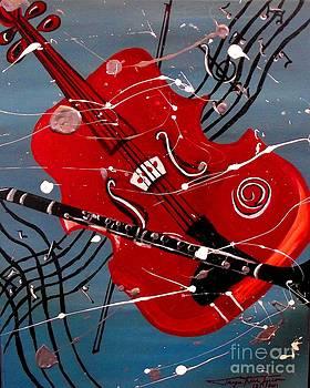 Viola and Clarinet Magic by Jayne Kerr