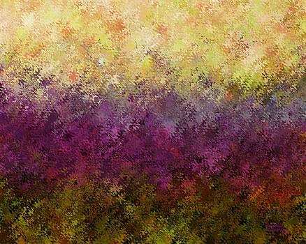 Violet Garden by David K Small