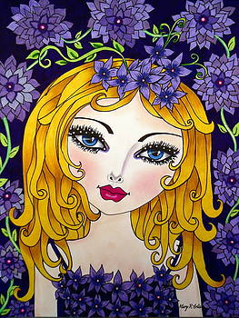 Violet by Maria  RUIZ