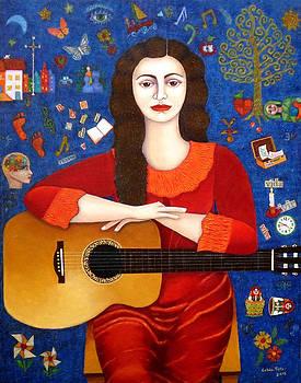 Madalena Lobao-Tello - Violeta Parra and the song Thanks to Life