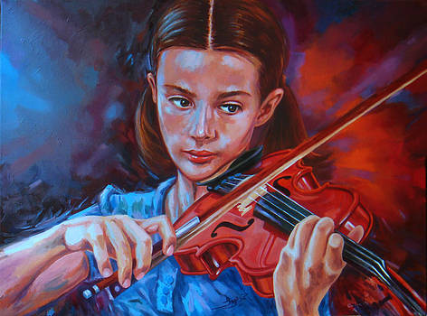 Violin   by Ahmed Bayomi