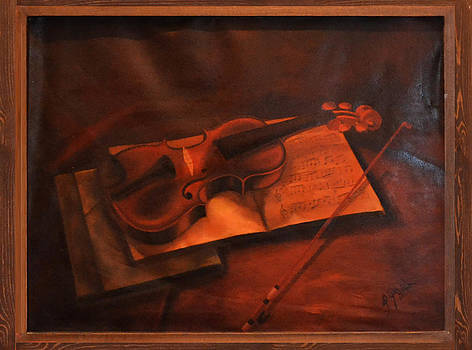 Violin The Note  by Ahmed Bayomi