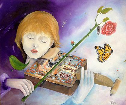Violonist dream by Mahiet Marie-Lyne